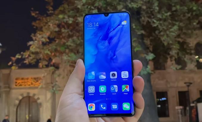 Xiaomi Mi Note 10 Ekran Özellikleri